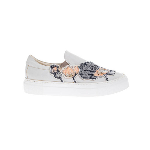 Achat Nappa leather slip-on shoes... - Jacques-loup