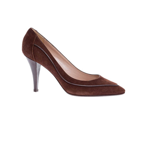 Achat Split leather pumps with... - Jacques-loup