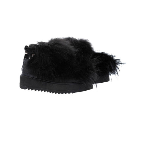 Achat Leather and fur low boots - Jacques-loup