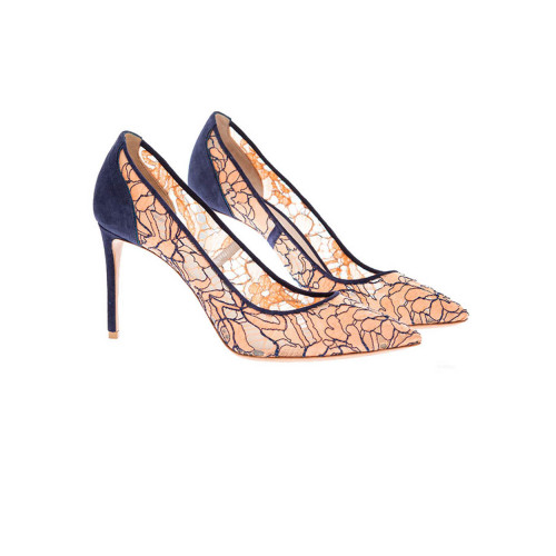Achat Lace and split leather... - Jacques-loup