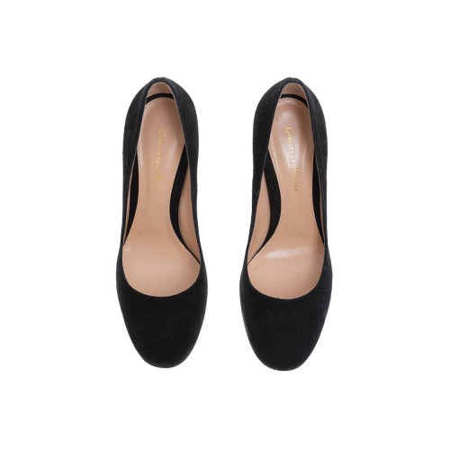 Achat Suede pumps with large heel... - Jacques-loup