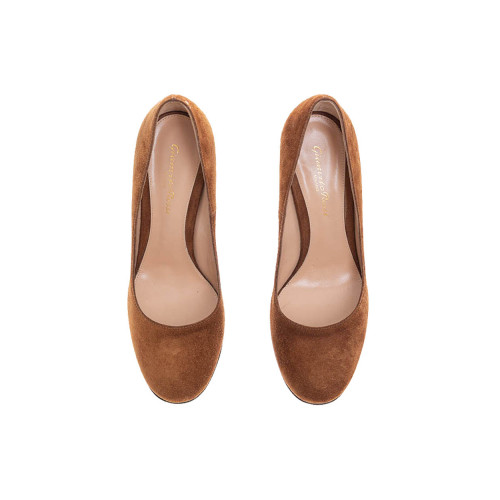 Achat Suede pumps with rounded... - Jacques-loup