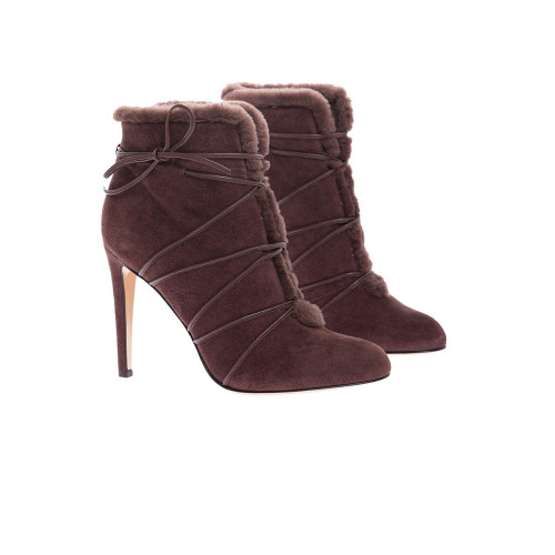 Achat Sheepskin low boots with... - Jacques-loup