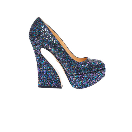 Achat Escarpin glitter Tal.155 Charlotte Olympia Femme - Jacques-loup