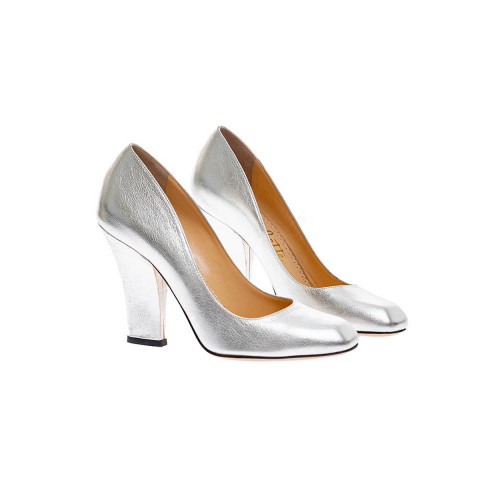 Achat Metallic calf leather pumps... - Jacques-loup