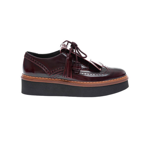 Achat Calf leather derby shoes... - Jacques-loup
