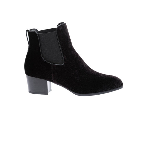 Achat Velvet low boots with... - Jacques-loup