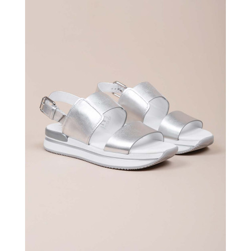 Achat 222 - Calf leather sandals with large straps - Jacques-loup