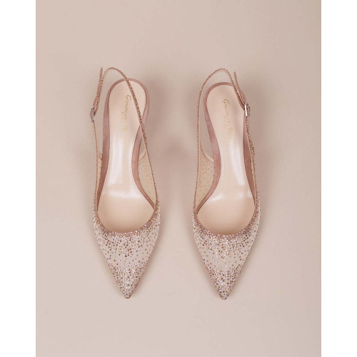 Achat Transparent cut-shoes pointed tip and strass - Jacques-loup