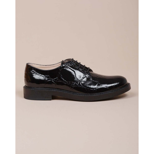 Achat Calf leather derby shoes crocodile print 25 - Jacques-loup