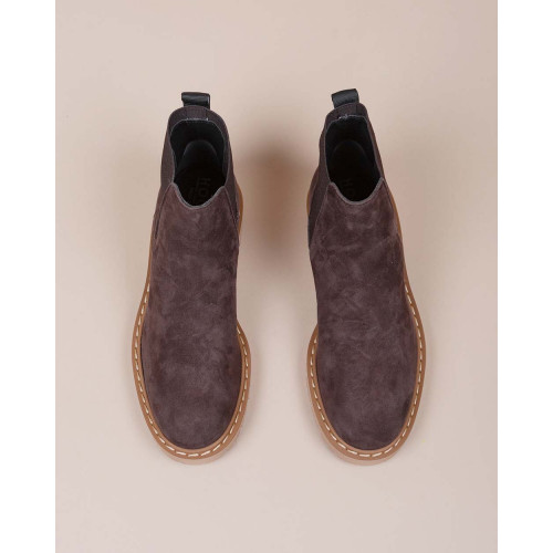 Achat Chelsea - Split leather boots with elastics 30 - Jacques-loup