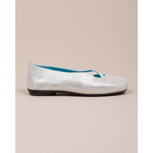Achat Glittering leather ballerinas - Jacques-loup