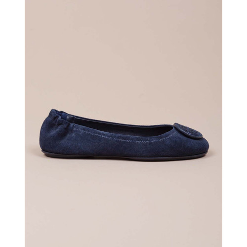 Achat Mini Travel - Natural leather ballerinas with logo - Jacques-loup