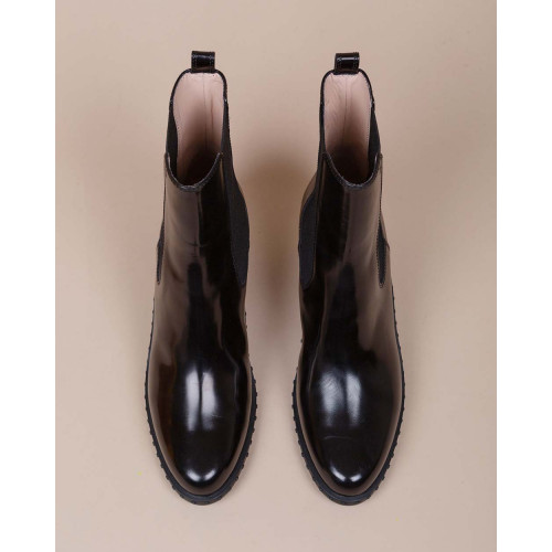 Achat Beattle Western - Leather boots with iconic pebble rubber sole 50 - Jacques-loup