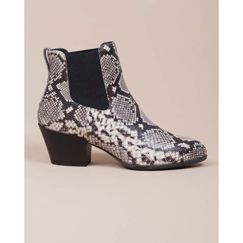 Achat Texano - Leather boots Python print 45 - Jacques-loup