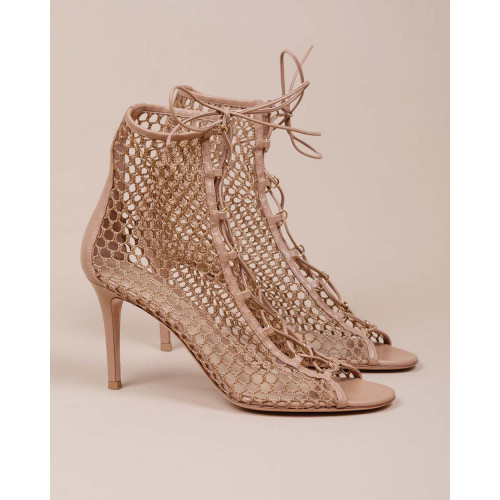 Achat Leather peaked shoes with laces - Jacques-loup