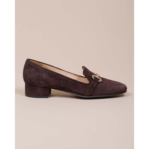 Achat Suede moccasins with light gold bit 25 - Jacques-loup