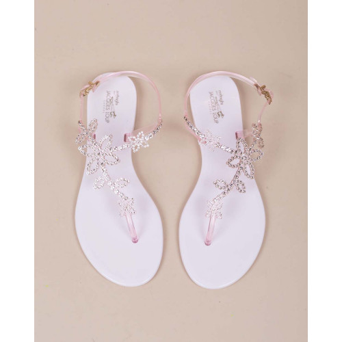 Achat Thong sandals with Swarovski crystals - Jacques-loup