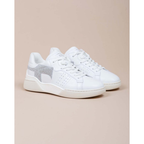 Achat Cassetta Leggera - Calf leather sneakers with metallic detail 35 - Jacques-loup
