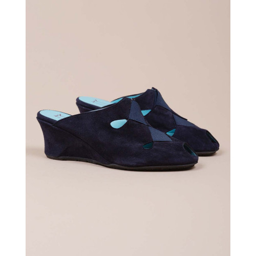 Achat Suede open toe slippers - Jacques-loup