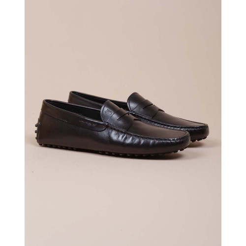 Achat Calf leather moccasins with gomini stub - Jacques-loup