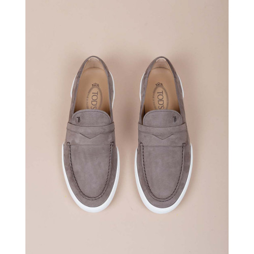 Achat Riviera - Nubuck moccasins with overstitched penny strap - Jacques-loup