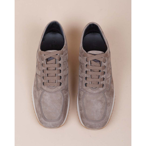 Achat Interactive - Nubuck sneakers with stitched and padded H - Jacques-loup