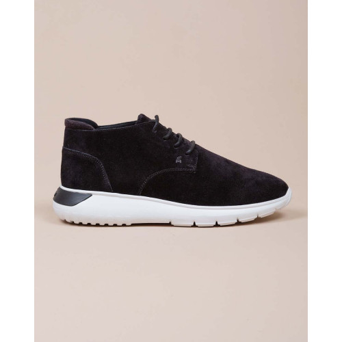 Achat I Cube - Split leather boots/sneakers 4 shoelace wholes - Jacques-loup