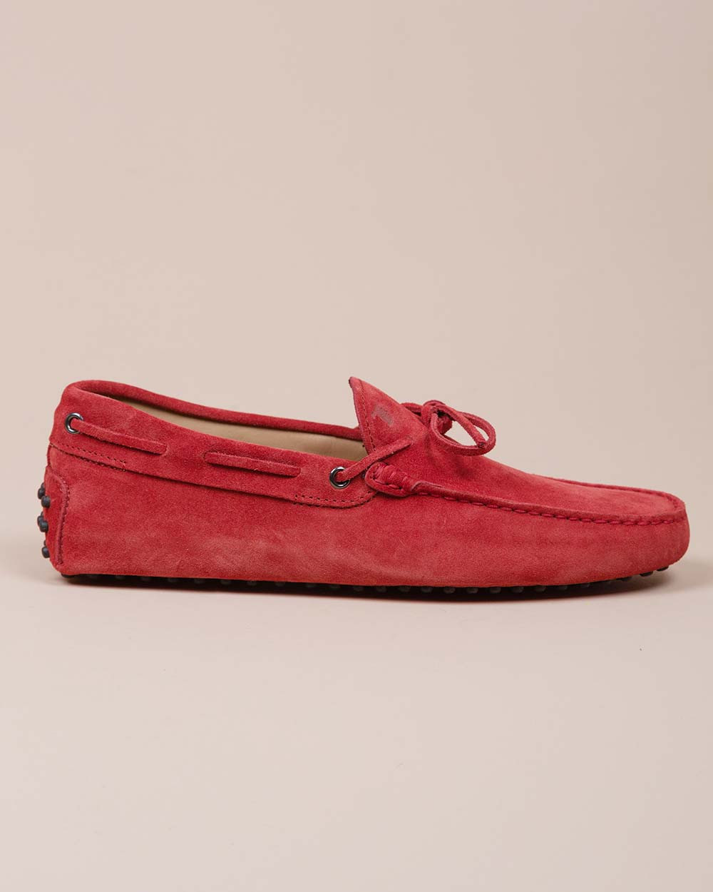 Gomini Lacetto - Split leather moccasins with rubber pins