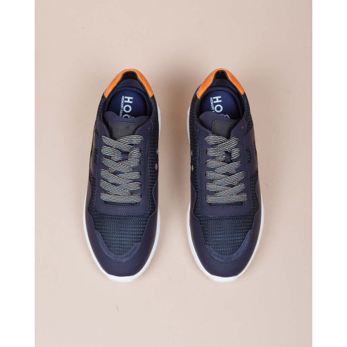 Achat I-Cube - Bi-material sneakers with orange buttress - Jacques-loup