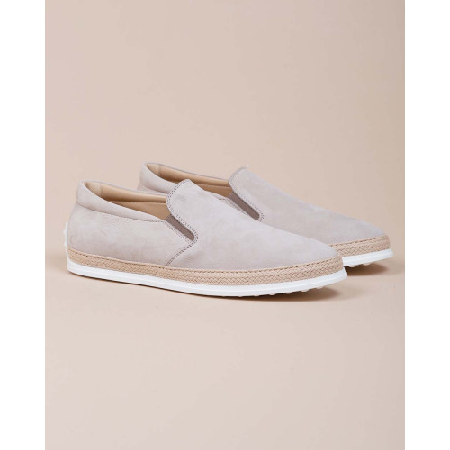 Achat Pantofola - Nubuck leather slip-on with rope sole - Jacques-loup