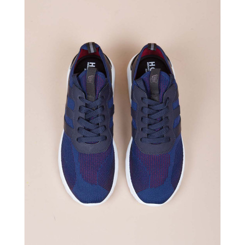 Achat Active One - Calf leather sneakers with stretch textile 50 - Jacques-loup