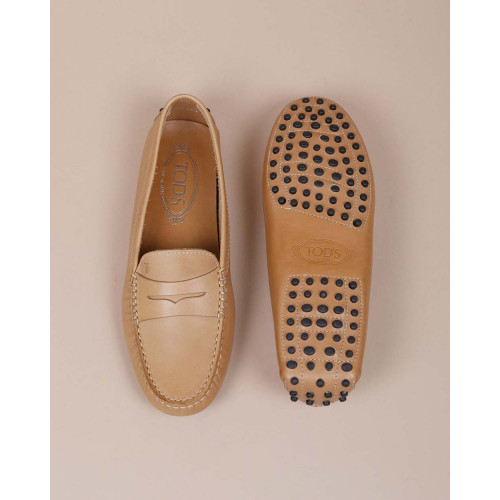 Achat Leather moccasins with decorative penny strap - Jacques-loup