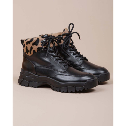Achat Mountain Sportiva Allacciata - Leather laces boots oversized outer sole - Jacques-loup