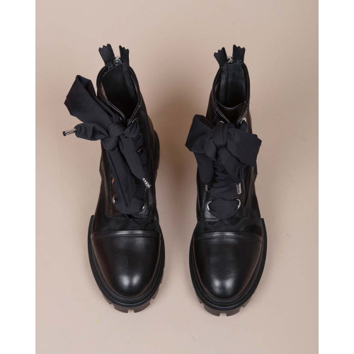 Achat Leather ranger boots with tissu lacing 50 - Jacques-loup