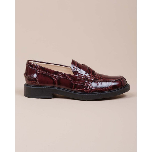 Achat Calf leather moccasins crocodile print 25 - Jacques-loup