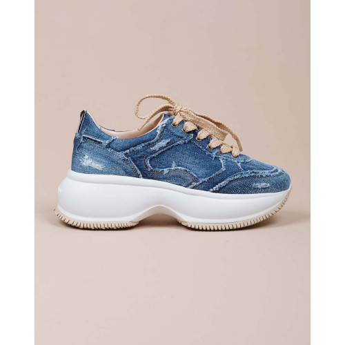 Achat Maxi Active - Oversized blue jeans sneakers 40 - Jacques-loup