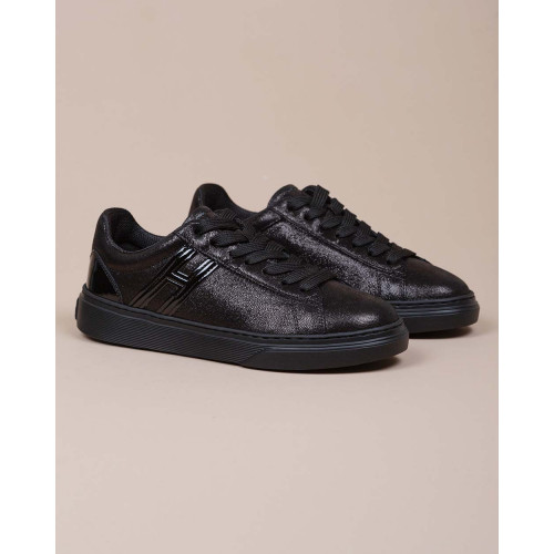 Achat Cassetta - Calfskin sneakers with shiny print - Jacques-loup