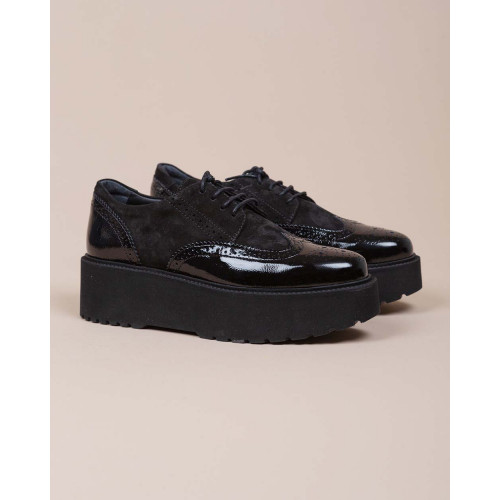 Achat Fondo Urban - Patent leather derby and suede - Jacques-loup