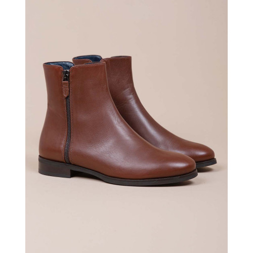 Achat Leather boots with zipper 20 - Jacques-loup