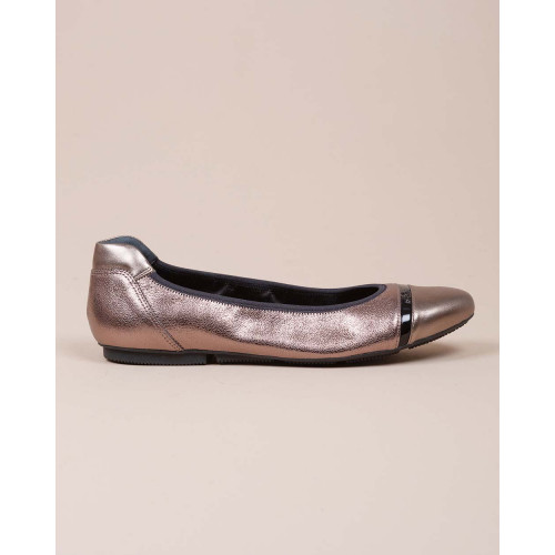 Achat Wrap - Two-toned leather ballerinas - Jacques-loup