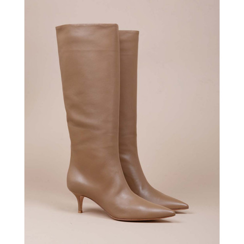 Achat Suzan - Nappa leather boots with pointed tip - Jacques-loup