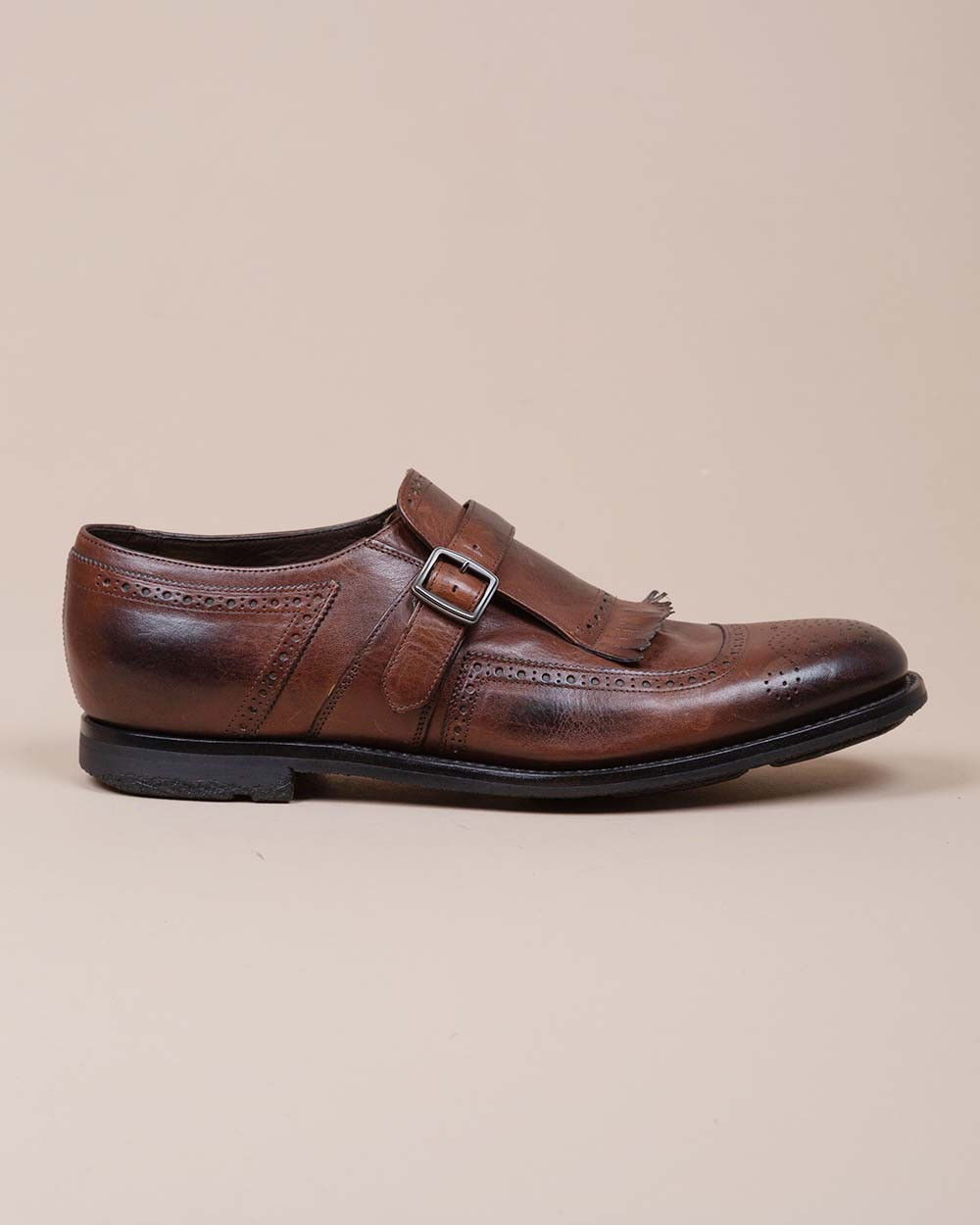 Shangaï - Leather derby with buckle