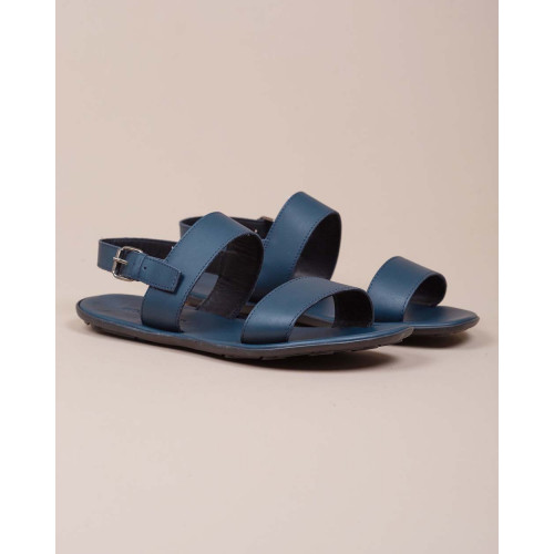 Achat Nappa leather sandals large strips - Jacques-loup