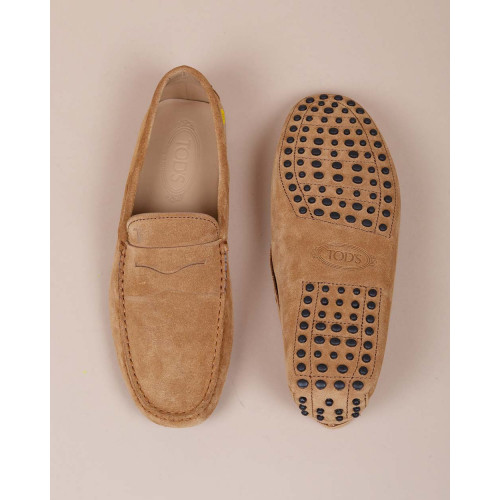 Achat Gomini - Suede moccasin with decorative penny strap - Jacques-loup