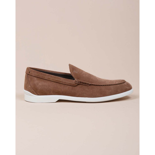 Achat Pantofola Casual Business - Split leather moccasins with light outer sole - Jacques-loup