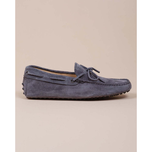 Achat Natural leather moccasins with decoratives shoelaces - Jacques-loup