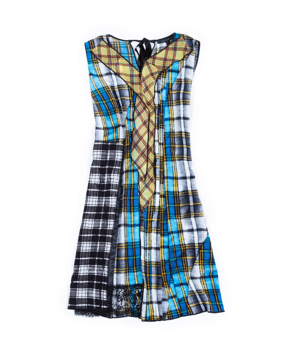 b479850446d0a4 Sleeveless dress Marc Jacobs multicolor with tartan print for women