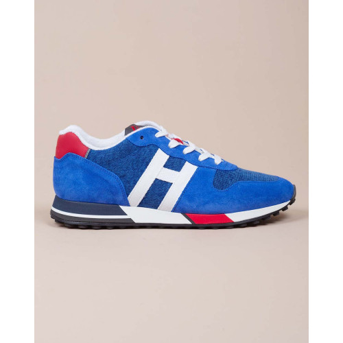 Achat Running H86 - Calf leather sneakers with colored outer sole - Jacques-loup