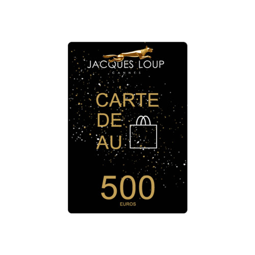 Achat Gift Card - 500€ - Jacques-loup